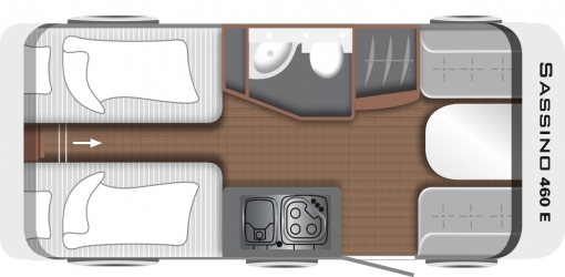 1 LMC Sassino 460 E layout